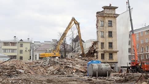 Гостиницу «Россия» в Нижнем Новгороде сносят до основания  / Фотофакт