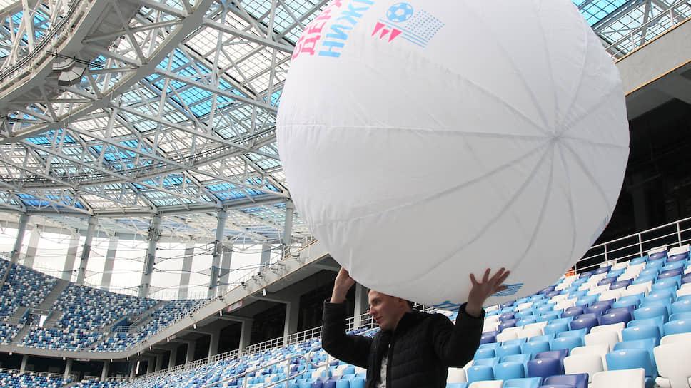 Стадион на Стрелке Волги и Оки вновь стал центром событий