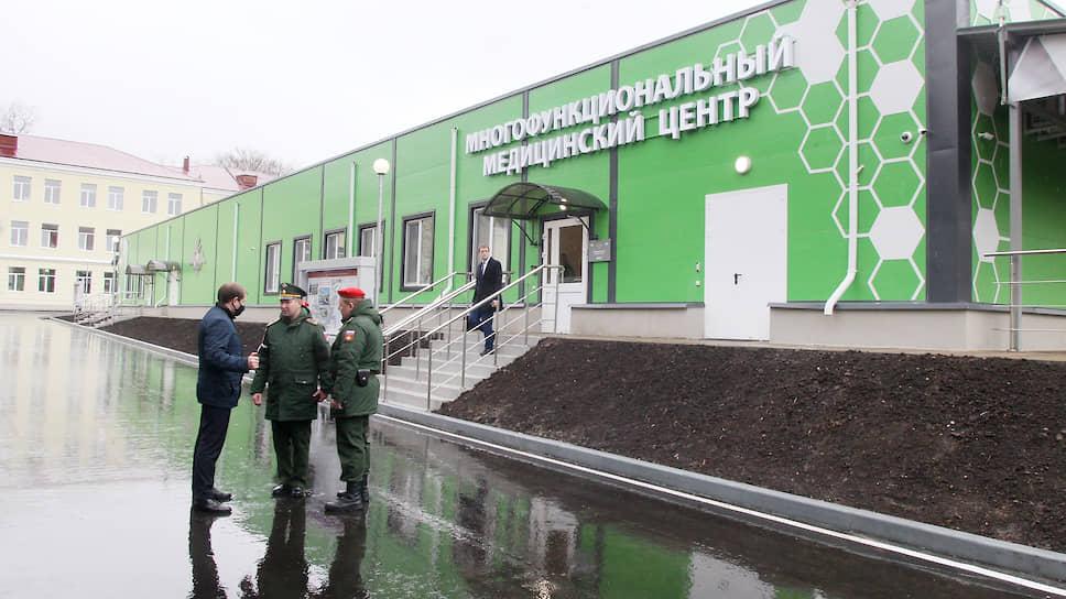 17 апреля на базе 422 госпиталя Министерства Обороны РФ открылся многофункциональный медицинский центр, построенный в рекордно короткие сроки для лечения больных коронавирусом