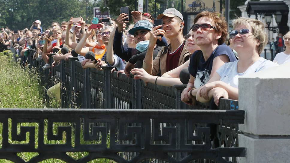 Нижегородцы показывают пример соблюдения социальной дистанции