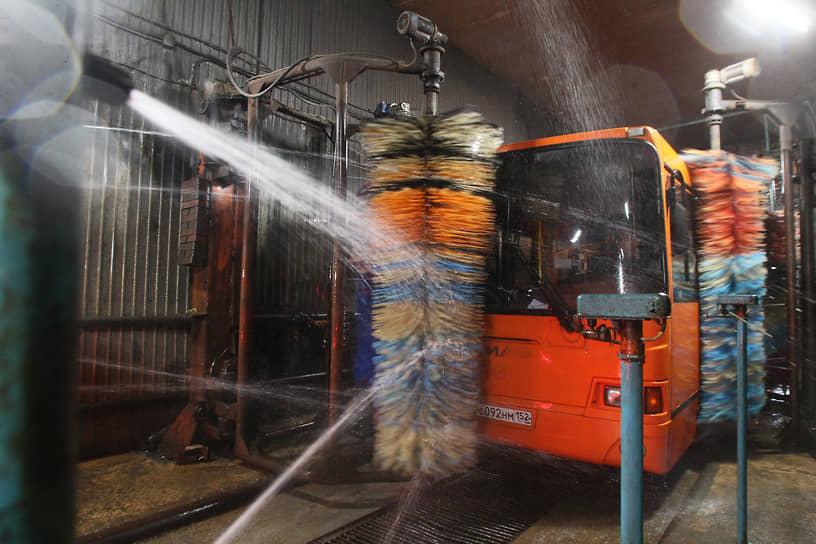 Нижегородские автобусы никогда еще не были такими чистыми, как в период пандемии