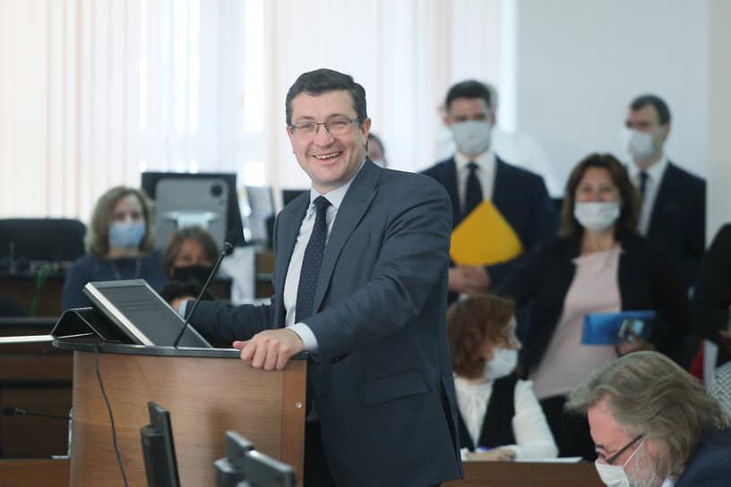 Губернатор Глеб Никитин, похоже, остался доволен тем, что его ставленник Юрий Шалабаев выиграл выборы мэра Нижнего Новгорода, а Евгений Люлин с поста его заместителя перешел на руководство региональным парламентом