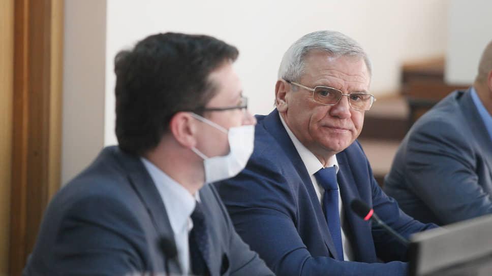 Евгений Люлин уже не раз сидел в кресле председателя и непонаслышке знаком с грузом ответственности