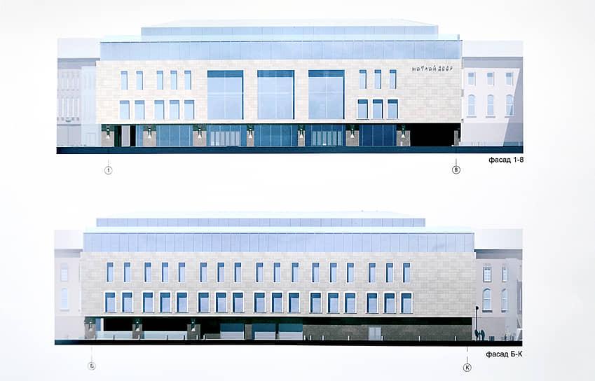 Проект строительства нового здания Мытного рынка