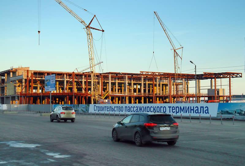 Новый терминал рос не по дням, а по часам, ведь он должен был открыться перед Чемпионатом мира по футболу в 2018 году