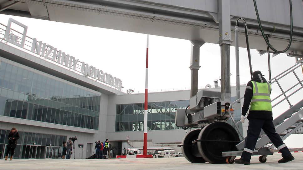 Теперь в новом терминале, построенном к Чемпионату мира по футболу-2018, для посадки используются современные телескопические рукава