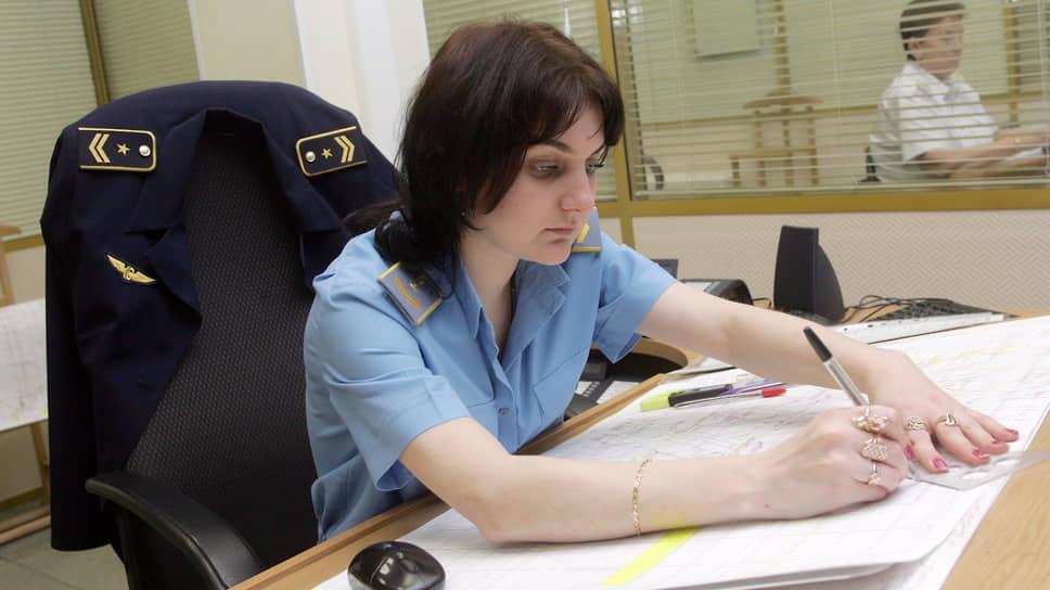 Диспетчер Горьковской железной дороги за работой