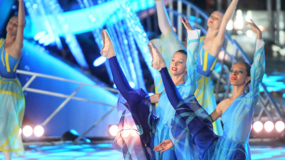 Достойный праздник не может обойтись без балета