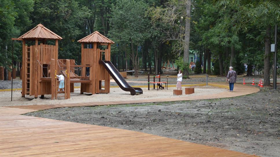 Посетители увидят в парке много нового