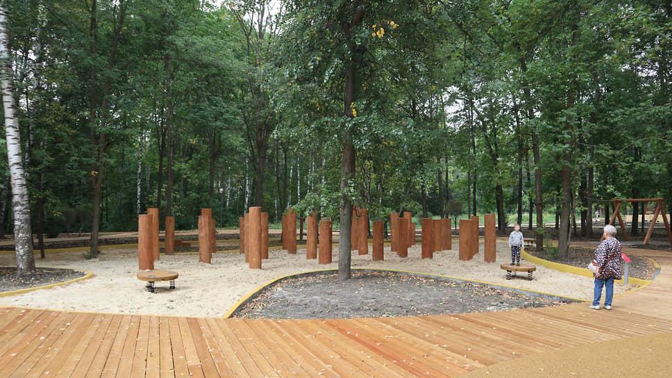 Деревянные настилы пока потрясают своей гладкостью