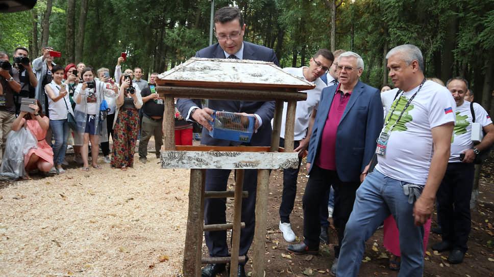 Теперь в парке живет VIP-белка, выпущенная самим губернатором