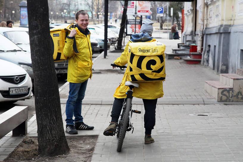 Современные службы доставки невозможно представить без велосипеда, не знающего ни пробок, ни запретительных знаков