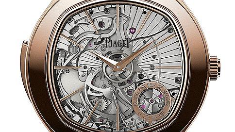 Точный итонкий  / Часовая коллекция Ultra-Thin Piaget 2013 года