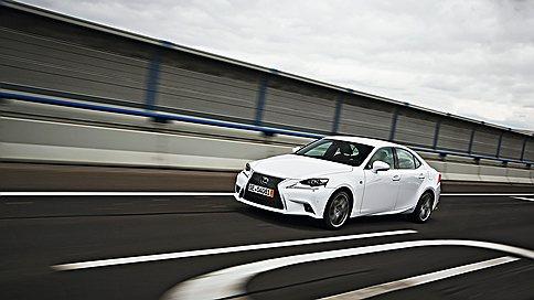 Товар с лицом  / Новый LexusIS