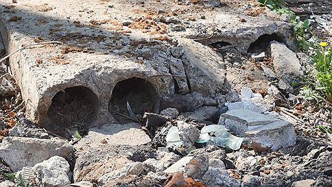 В Нижнем нашли новое мусорное пятно  / Свалка с опасными отходами обнаружена на месте снесенных гаражей в Ленинском районе