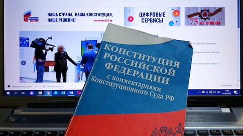 Электронное голосование по поправкам к Конституции будет проведено в Нижегородской области  / Такую возможность получили только Москва и наш регион