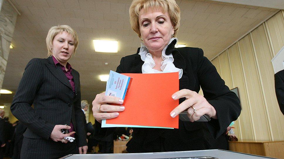 Спикер новосибирского горсовета Надежда Болтенко считает, что избиратель должен понять с первого раза, какого мэра он хочет выбрать