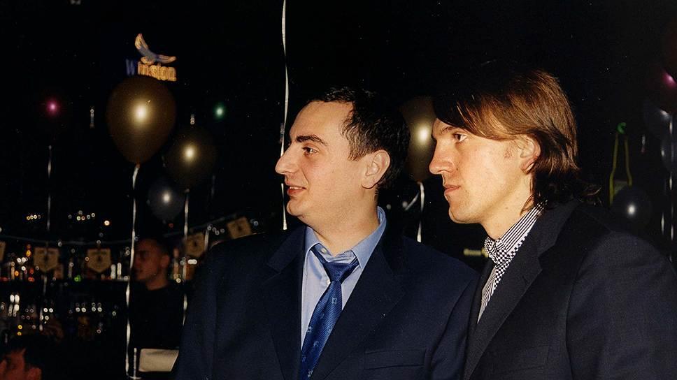 Арестованный в Австрии бизнесмен Анатолий Радченко (справа) вскоре может встретиться со своим другом вице-мэром Новосибирска Александром Солодкиным