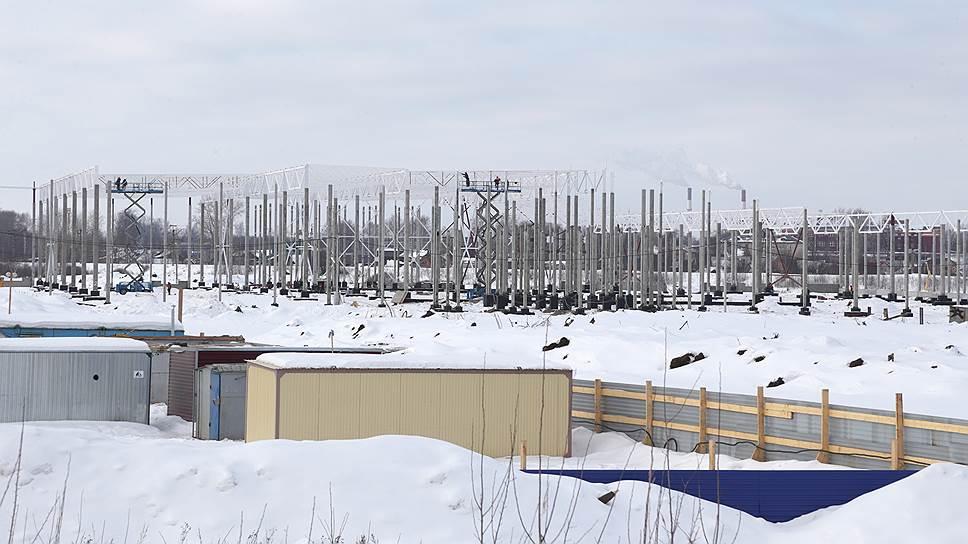 Под строительство логоцентра отведено 400 га в районе поселка Пашино