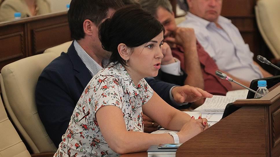 Как фракция под руководством Марии Прусаковой не поддержала главный финансовый документ Алтайского края
