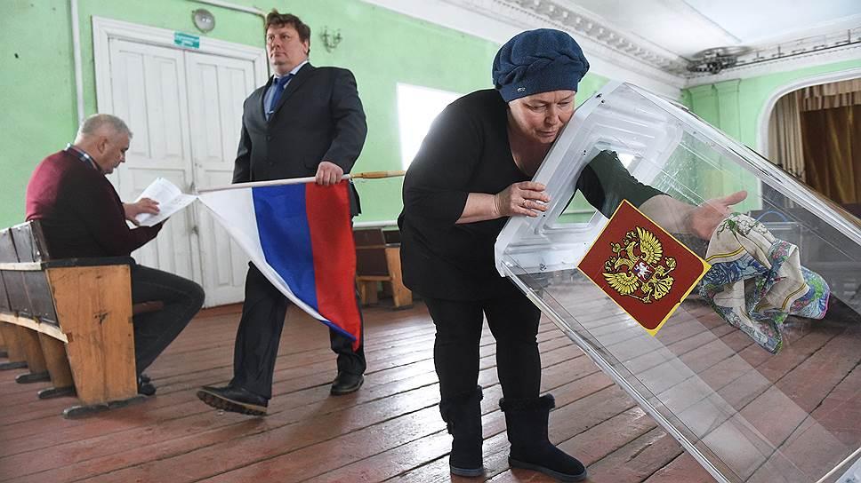 Как сотрудники сибирских избиркомов придут в гости к избирателям