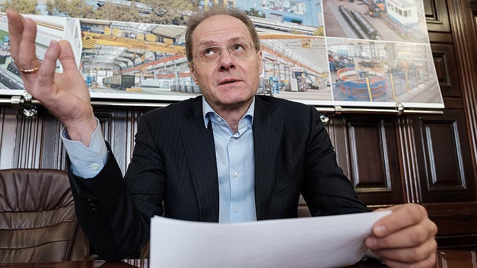 Василий Юрченко рассчитывает увеличить площади индустриального парка НМЗ до 40 тыс. кв. м