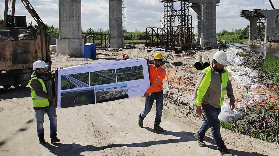 Четвертый мост прибавил в «Висе» / Концессионер строительства мостового перехода через Обь сменил генподрядчика