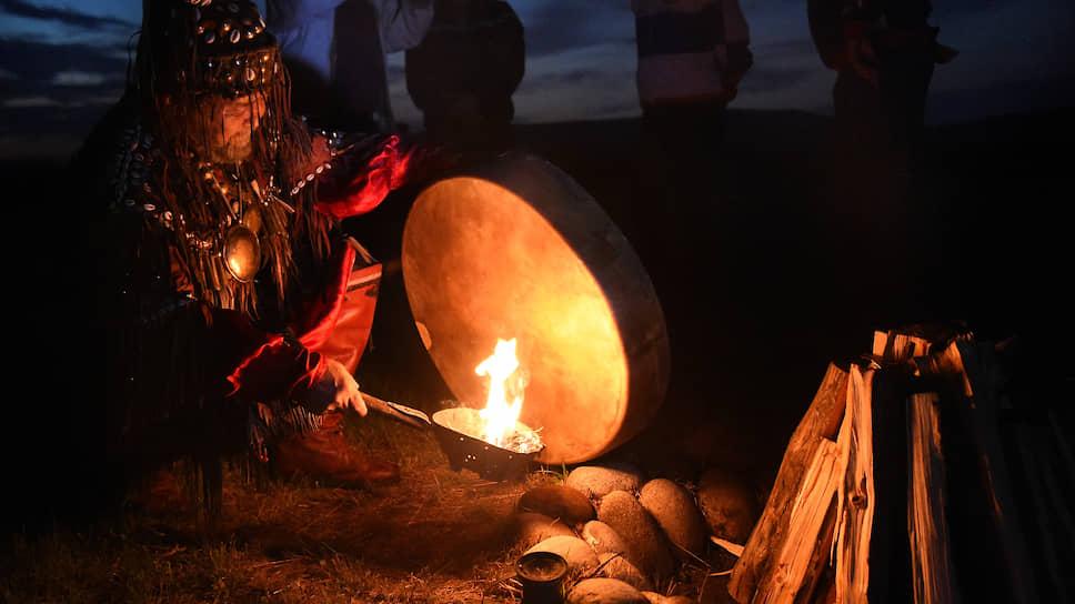 Как происходило задержание шамана
