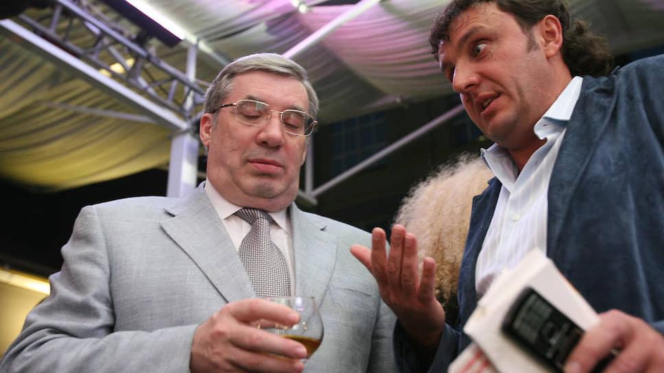 Виктор Толоконский (слева) готов выслушать и все планы Эдуарда Тарана (справа) и его команды