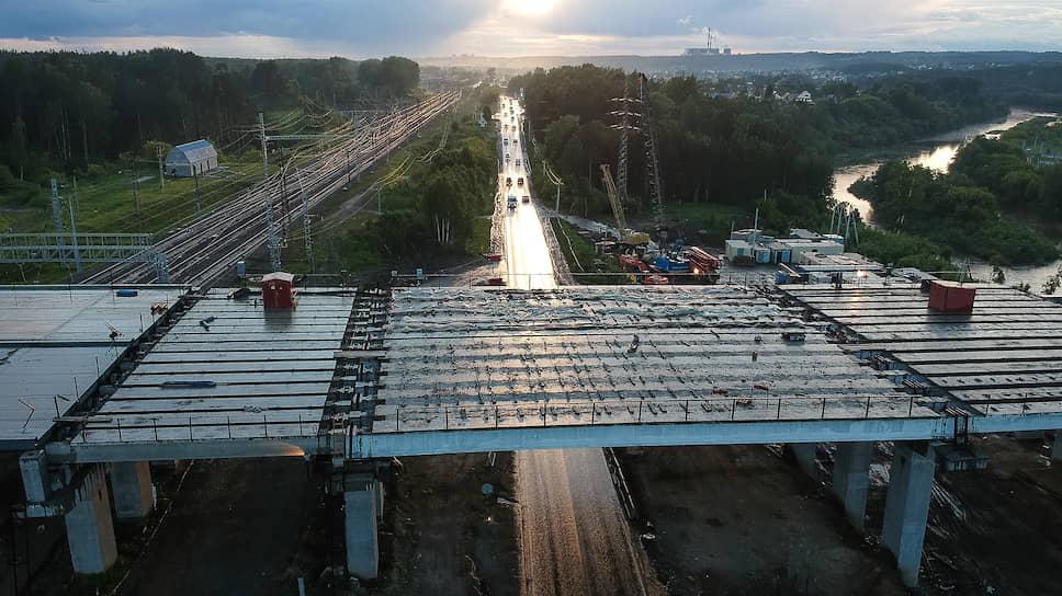 Проект строительства первого этапа Восточного обхода реализован в целом на 45%