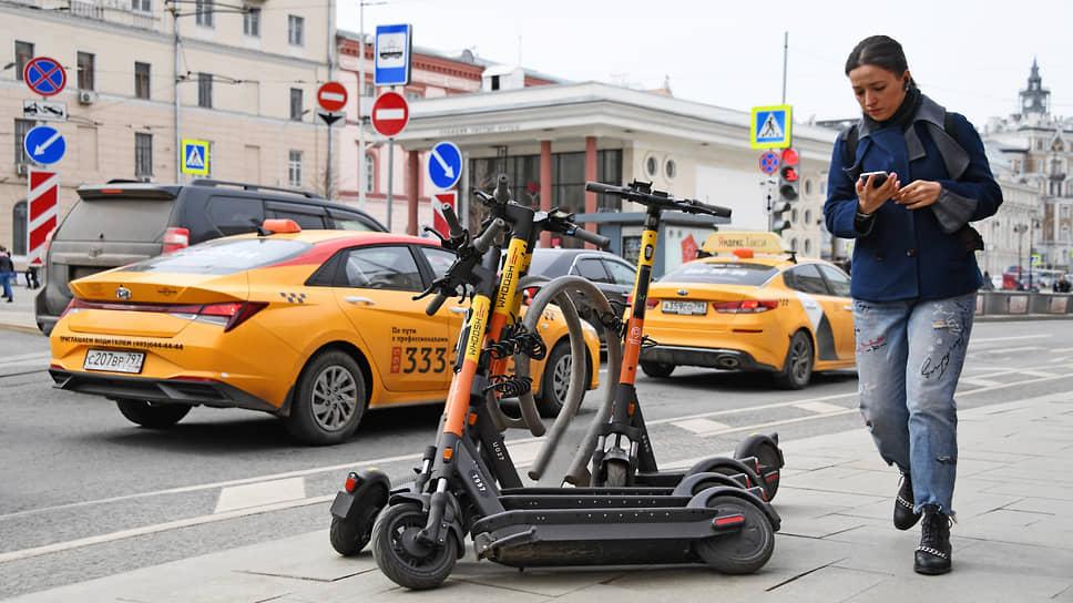 Участники рынка считают, что электросамокаты  эффективнее помогут бороться с пробками, но властям нужно срочно заняться созданием инфраструктуры для новых средств передвижения
