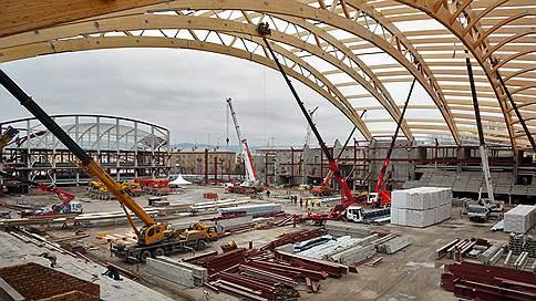 Хоккейный стадион «Енисей» в Красноярске откроют в конце 2018 года