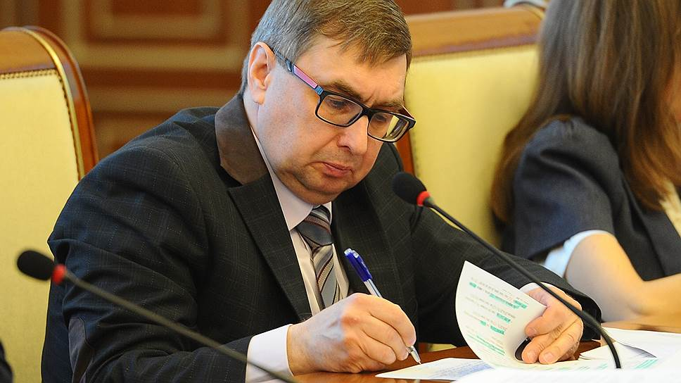 Временно исполняющий обязанности министра сельского хозяйства Евгений Лещенко