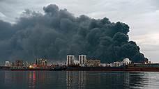 МЧС назвало основную версию пожара на складе «Бирюсы»