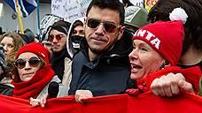 Идеолог «Монстрации» задержан после митинга в Москве из-за плаката