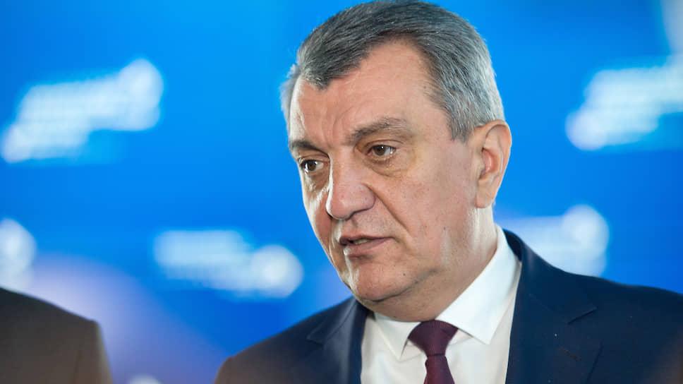Полномочный представитель президента России в Сибирском федеральном округе Сергей Меняйло