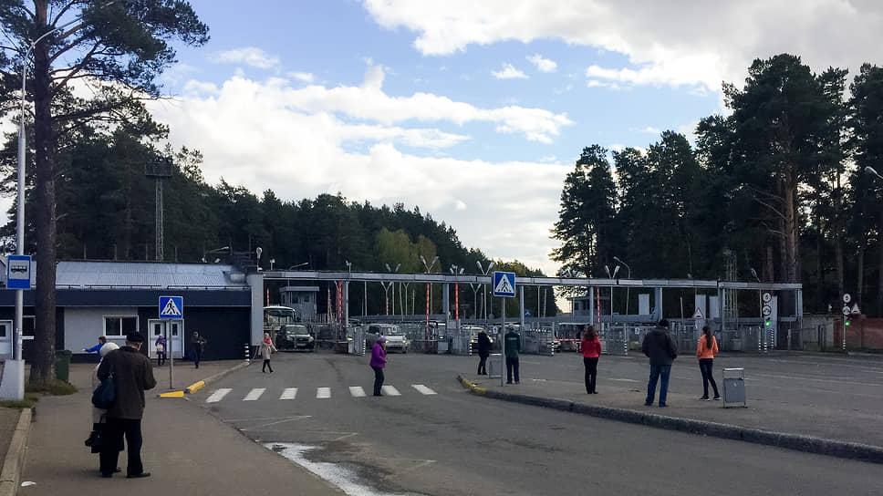 КПП при въезде в ЗАТО Северск