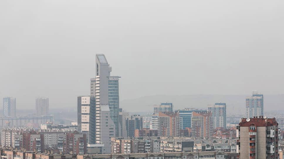 Задымление атмосферы в Красноярске