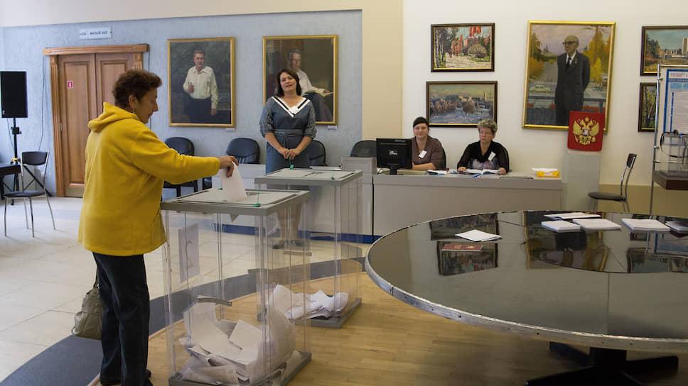 Голосование на выборах мэра Новосибирска 2019 года