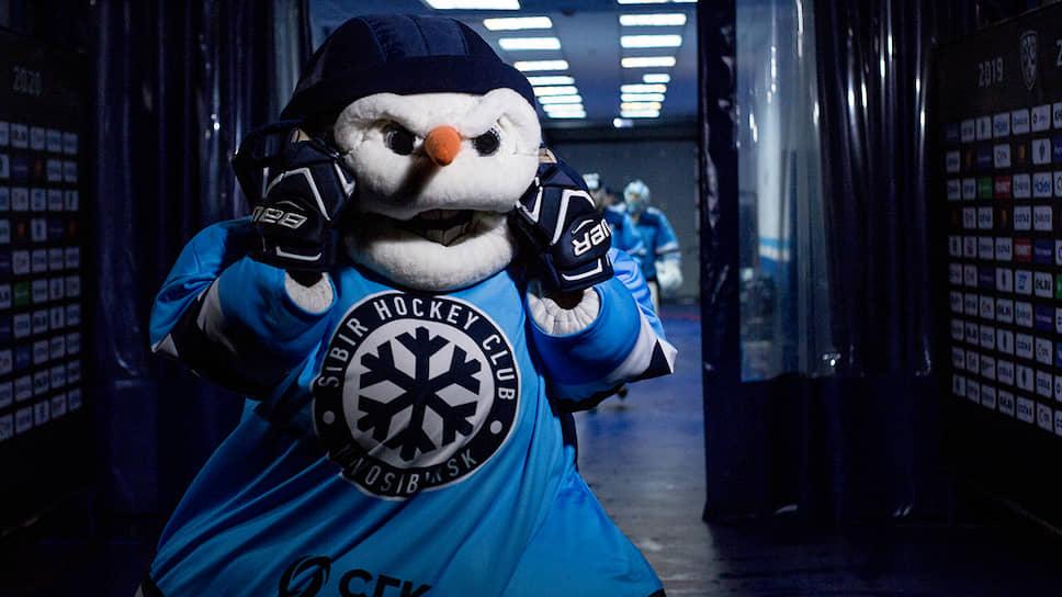 Известный талисман «Сибири» — злой снеговик