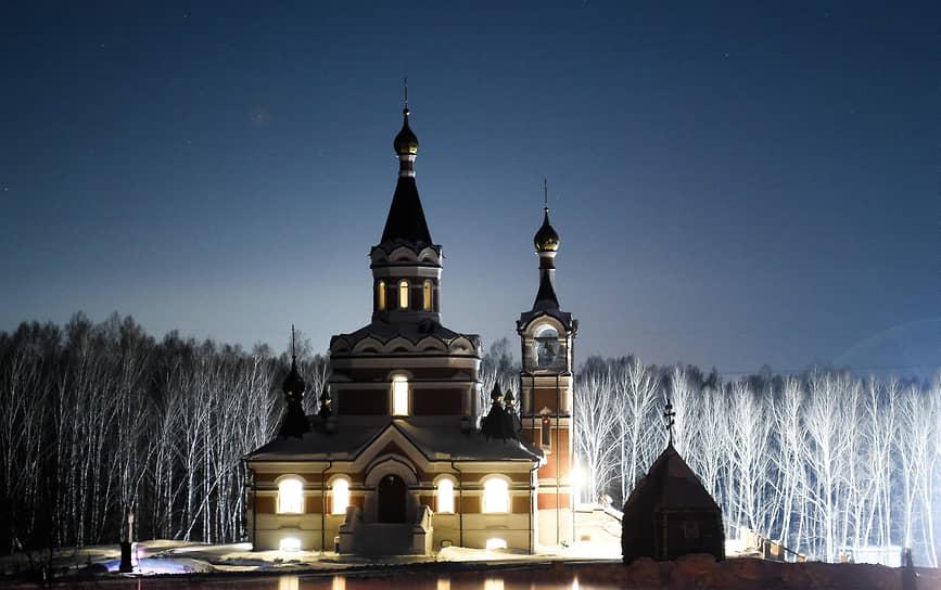 Храм в честь Новомучеников и исповедников Церкви Русской на Святом источнике Искитимского района