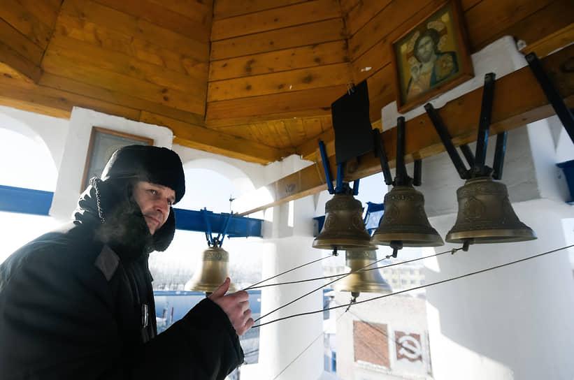 Празднование Крещения Господня в исправительной колонии №18 в Новосибирске