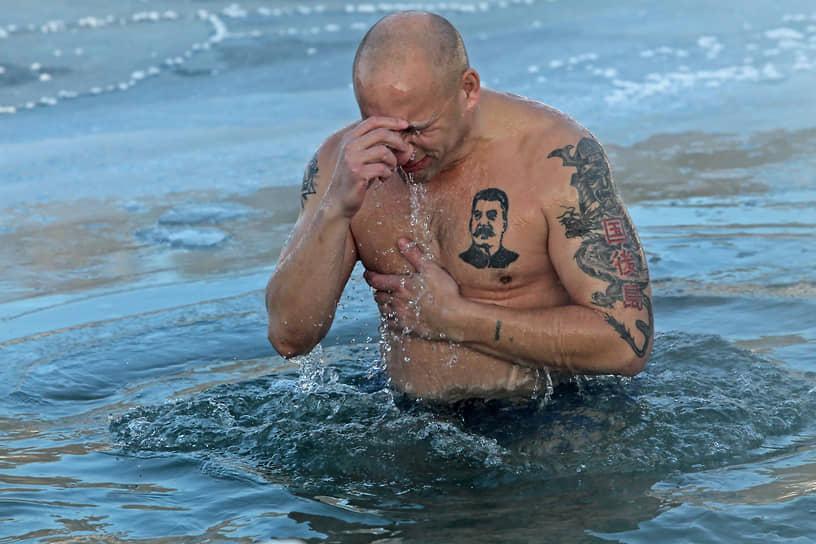 Крещенские купания в Барнауле