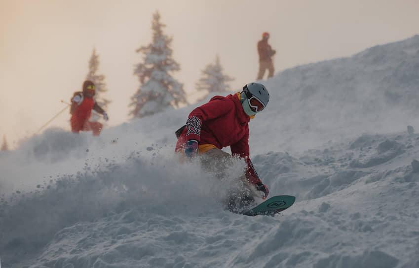 Работа горнолыжного курорта «Шерегеш» в Кемеровской области