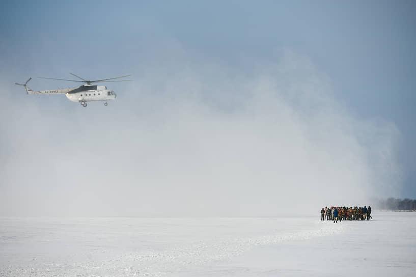 Сотрудники авиапожарной службы Новосибирской авиабазы провели тренировку на аэродроме «Бердск-Центральный»
