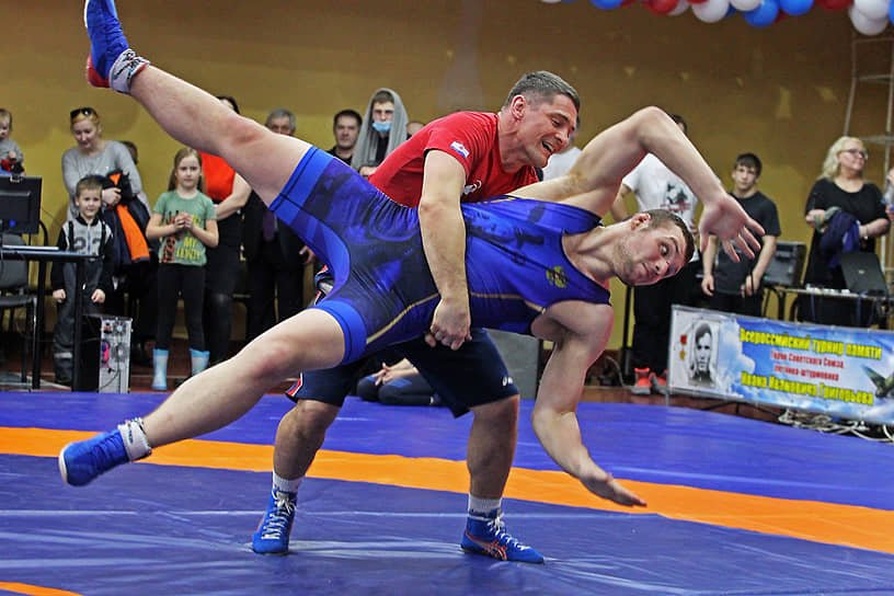 Всероссийский турнир по греко-римской борьбе в Новоалтайске
