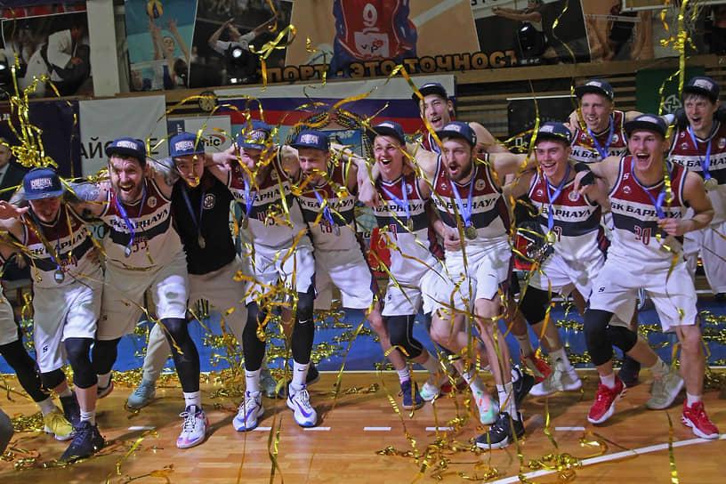 Впервые в истории алтайского баскетбола БК «Барнаул» стал победителем Суперлиги-2
