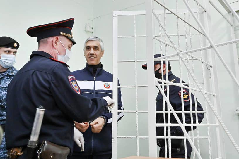 Заседание суда по делу Анатолия Быкова в Свердловском районном суде в Красноярске