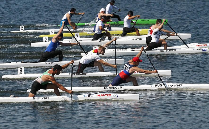 II этап Кубка мира и олимпийская квалификация по гребле на байдарках и каноэ в Барнауле