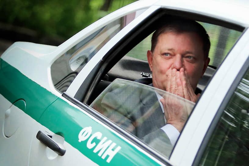 После окончания заседания суда по делу мэра Томска Ивана Кляйна, подозреваемого в превышении должностных полномочий и незаконном участии в предпринимательской деятельности